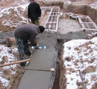 Технология прогрева бетона во время стройки зимой: как создать условия для отвердевания бетона