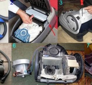 Ремонт пылесоса без посторонней помощи – 4 совета для домашних мастеров