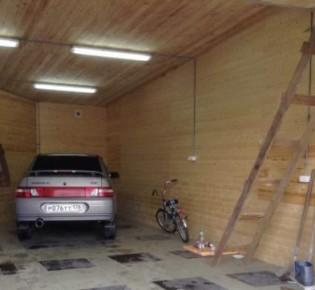 ТОП-7 идей для автономного освещения гаража: описание этапов работы, порядок сборки