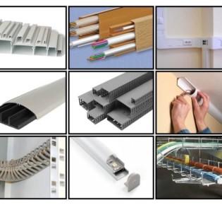 Выбираем тип кабель-канала для монтажа электропроводки