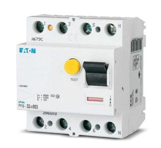 Описание и характеристики УЗО марки Eaton: обзор устройства и рекомендации по установке