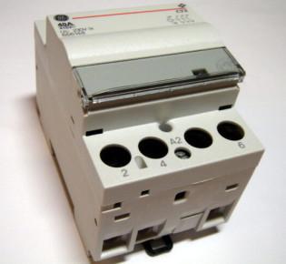 Особенности применения модульного контактора для управления электродвигателями высокой мощности