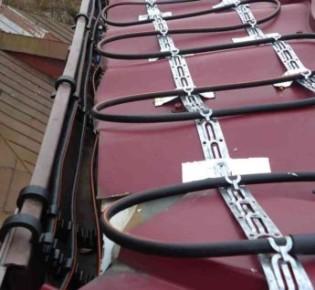 Как создать систему обогрева кабелем крыши своими руками: особенности конструкции