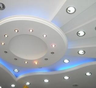 Достаточно популярные в современном дизайне интерьера точечные светильники споты и их установка