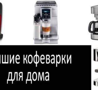 Как правильно сделать выбор бытовой кофеварки: основные критерии выбора, описание популярных моделей