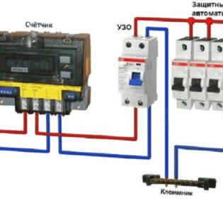 Как правильно подключить устройство защитного отключения в однофазной электросети