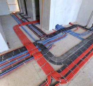 Электропроводка в квартире с 3-мя комнатами — стандартный проект со схемой