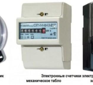Выбор счетчика потребления электрической энергии, какой самый популярный среди покупателей