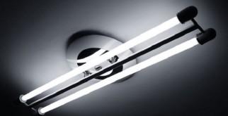 Схема для подключения лампы дневного света без ограничителя и пускового механизма