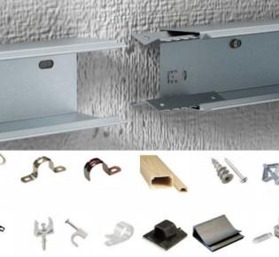 8 вариантов крепления электрического кабеля к стене: описание способов, их преимущества и недостатки