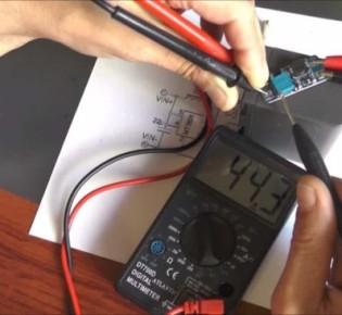 Регуляция постоянного и переменного тока при помощи устройства повышения напряжения