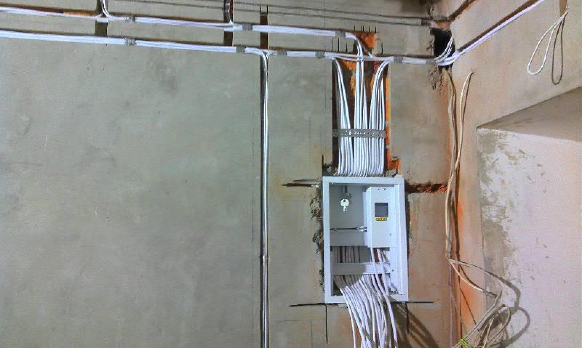 современная электропроводка