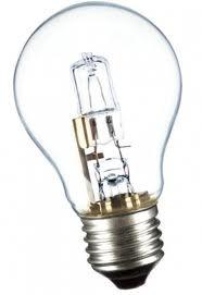 Галогенная лампа з внешней колбой