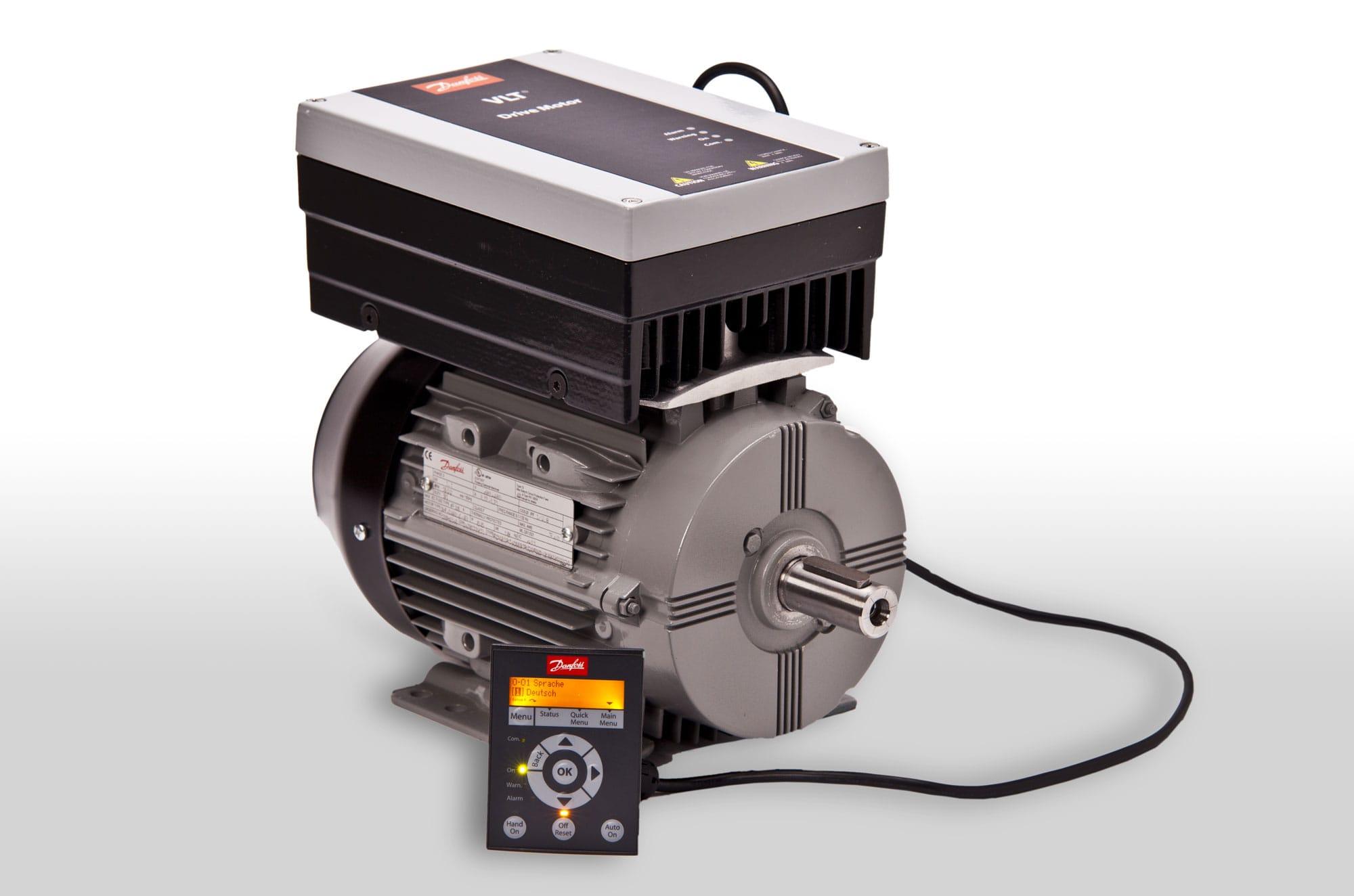 частотник и двигатель