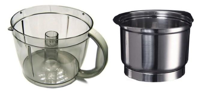 2 чаши кухонного комбайна