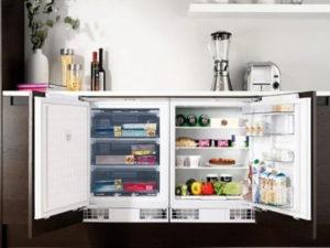 холодильник с продуктами, подключение самостоятельно