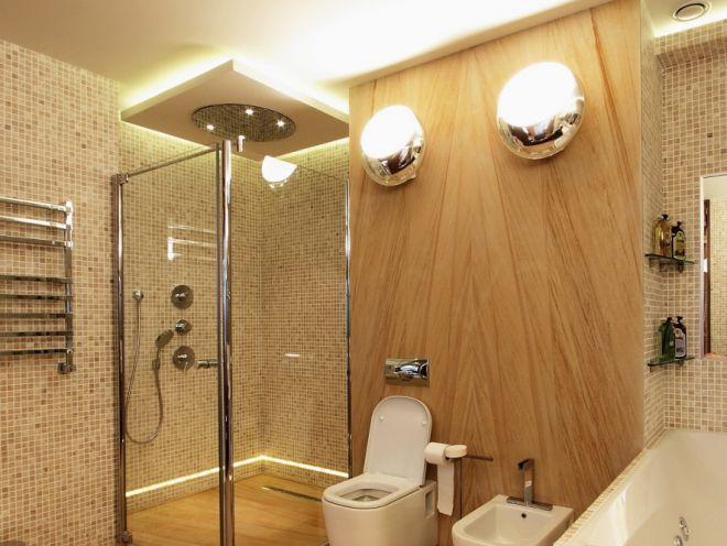 ванная комната, сэкономить электроэнергии