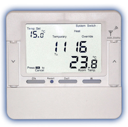 Программируемый терморегулятор для управления отоплением