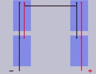Смешанное соединение при подключении солнечных батарей