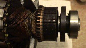 коллектор двигателя статор