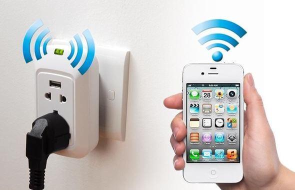 Накладная wi-fi розетка