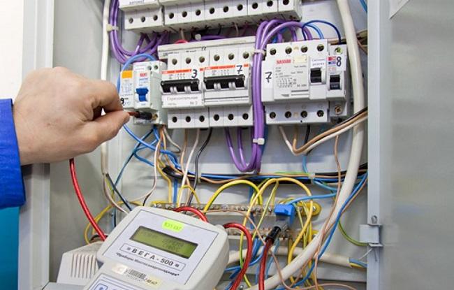 электропроводка, измеряет мощность электроэнергии, вид