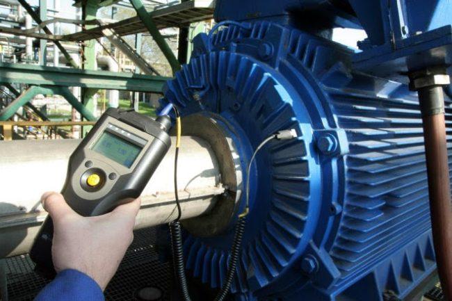 торможение измерение вибрации электродвигателей
