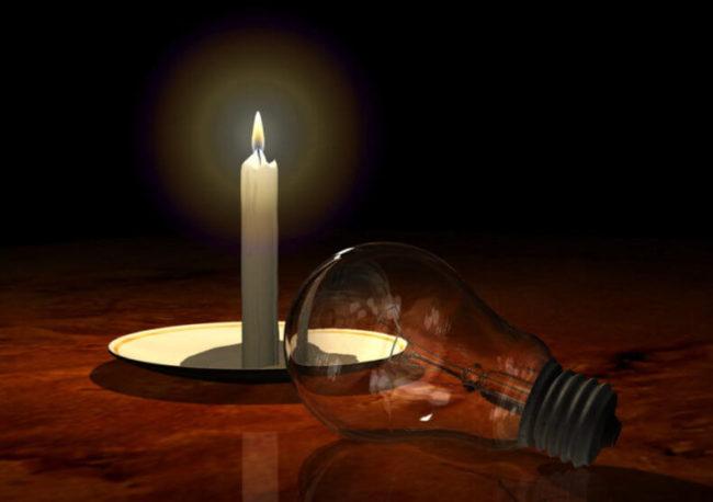 свеча, лампочка, причина перегорания