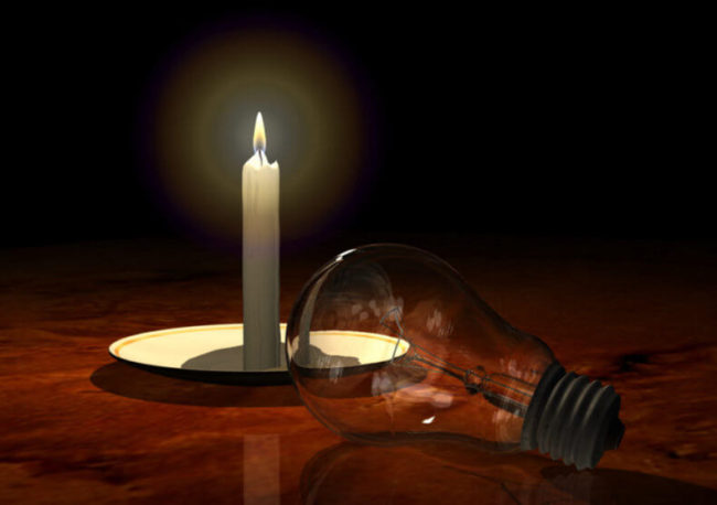 свеча, лампочка, проверка