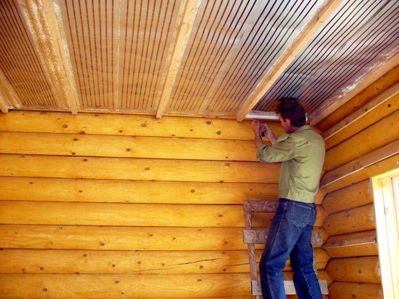 монтаж электрического отопления в деревянном доме