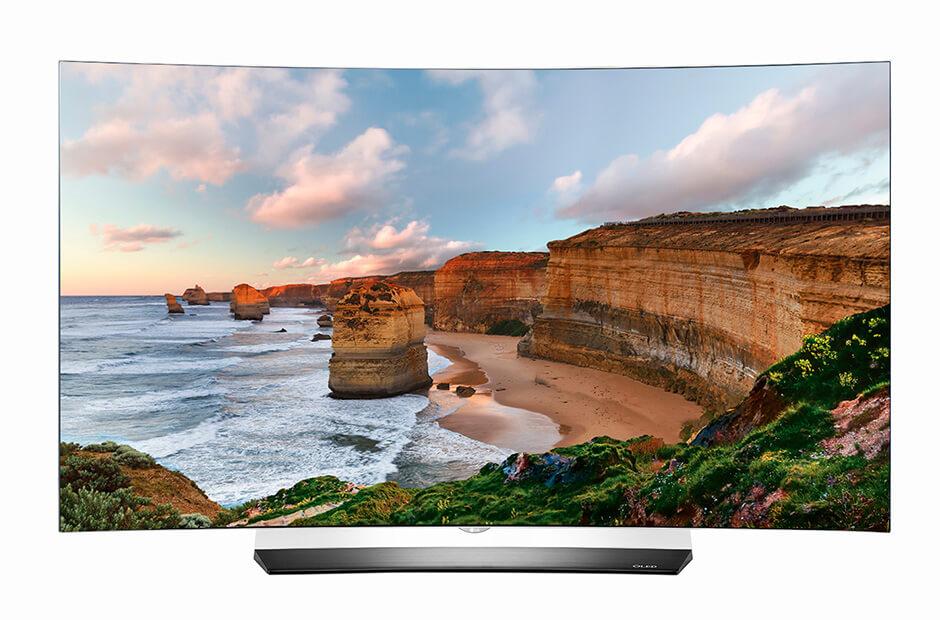 выбор LG OLED55C6V диагональ 50-55 дюймов