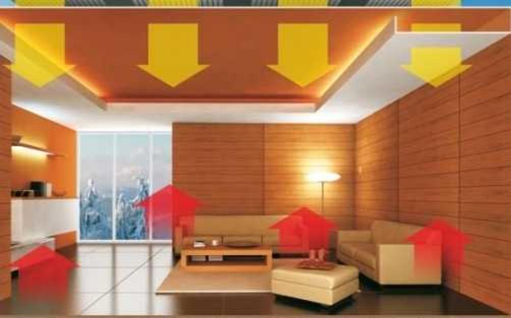 схема отопления деревянного покрытия дома электрического