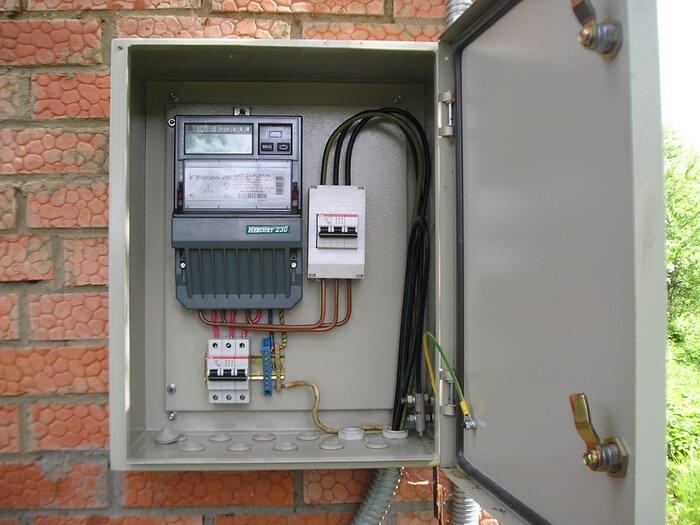 Металлический шкаф, выбор электрического