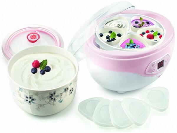 выбрать йогуртницу стильную модель баночек