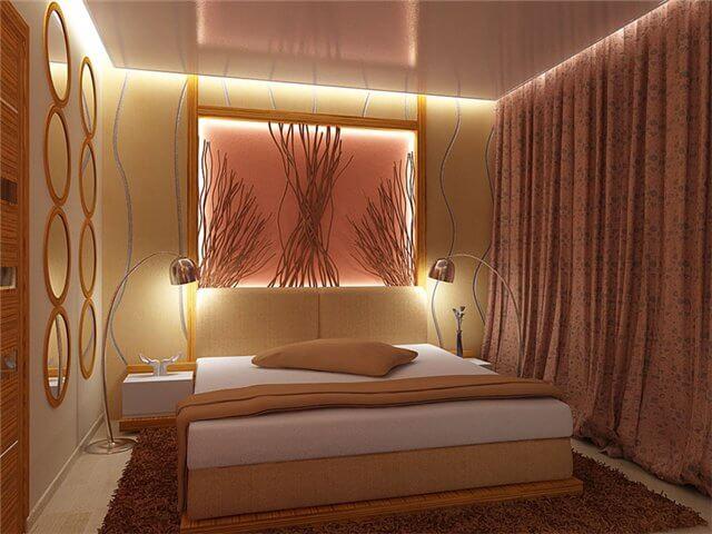 Спальня, вариант потолка