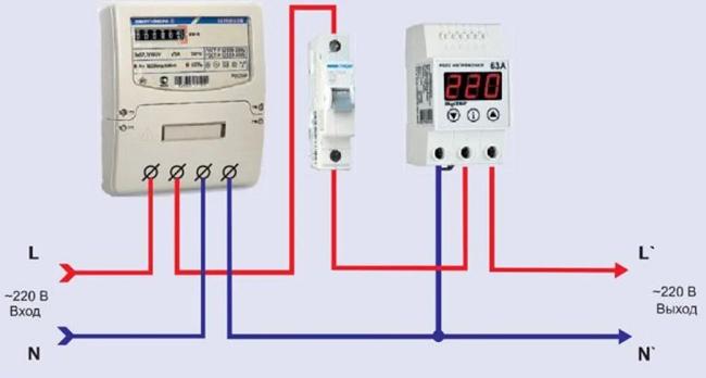 выбор схемы подключения реле и стабилизатор