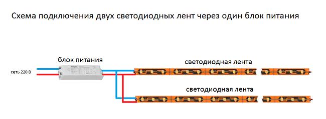 Схема, Один БП
