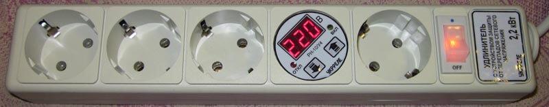 Многофункциональный сетевой фильтр, стабилизатор