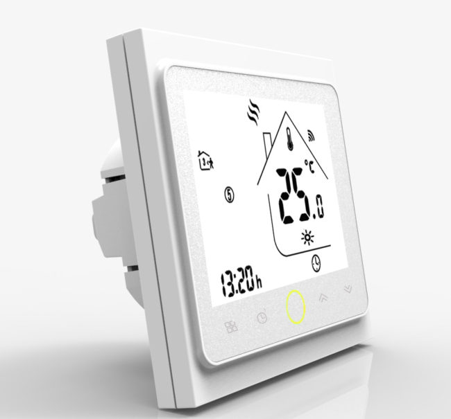 термодатчик установка для теплого электро пола