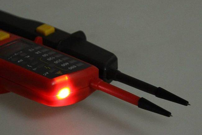 индикатор напряжения, лампа электрика контрольная