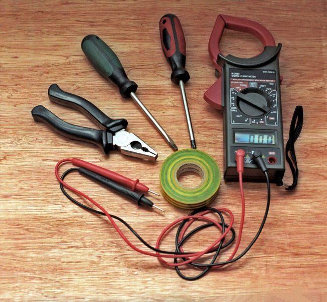 варочной, набор инструментов, установка
