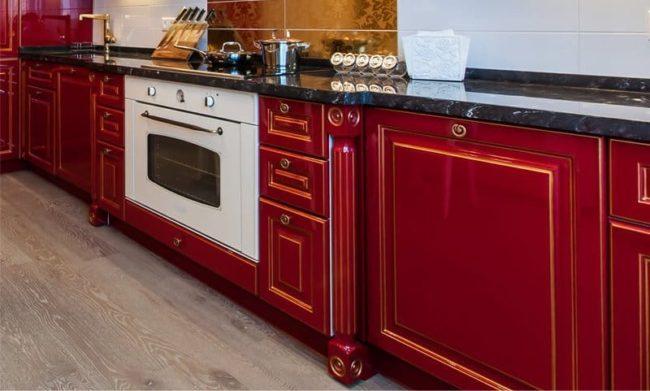 кухня, варочной установка