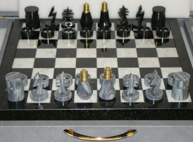 оригинальный подарок шахматы электрику