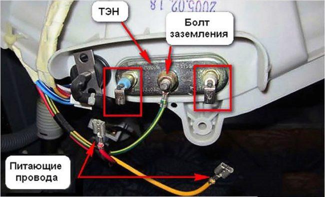 заземление стиральной электро машинки