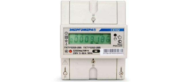 счетчик потребления электрической энергии