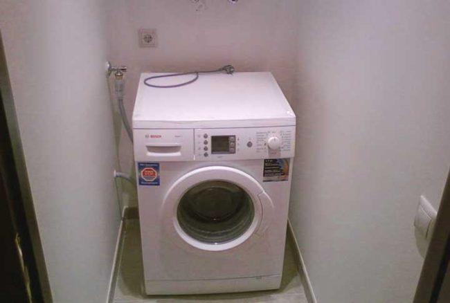 заземление стиральной машинки в ванной