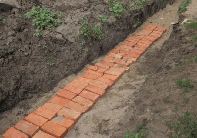 защита кабеля в земле