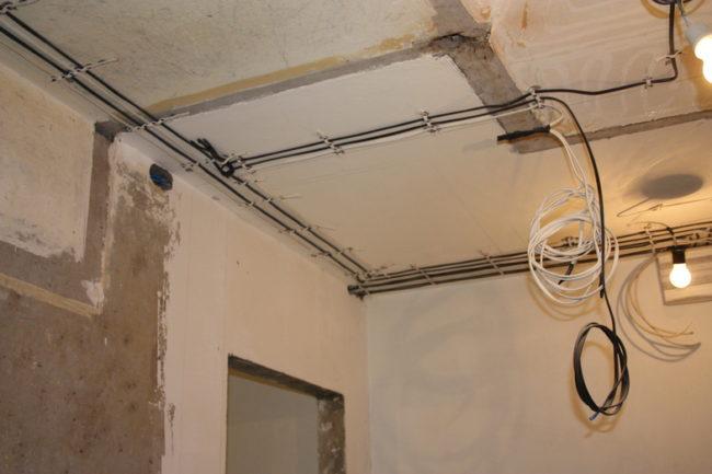электрическая проводка в квартире