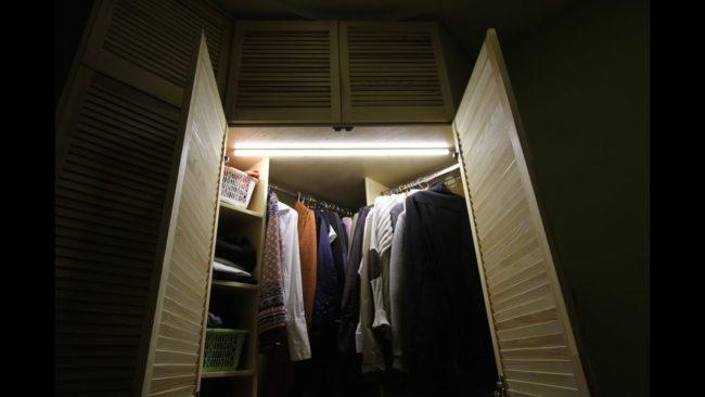 шафа с подсветка