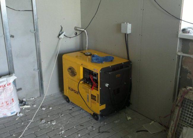 подключение электростанции к дому